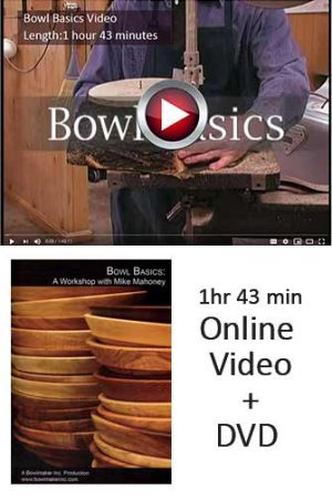 Bowl Basics Video plus DVD option