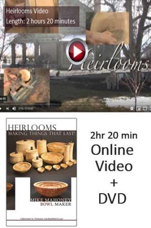 Heirlooms online video plus DVD option