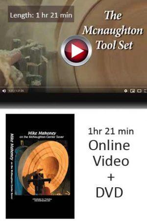 McNaughton Center Saver Video and DVD option